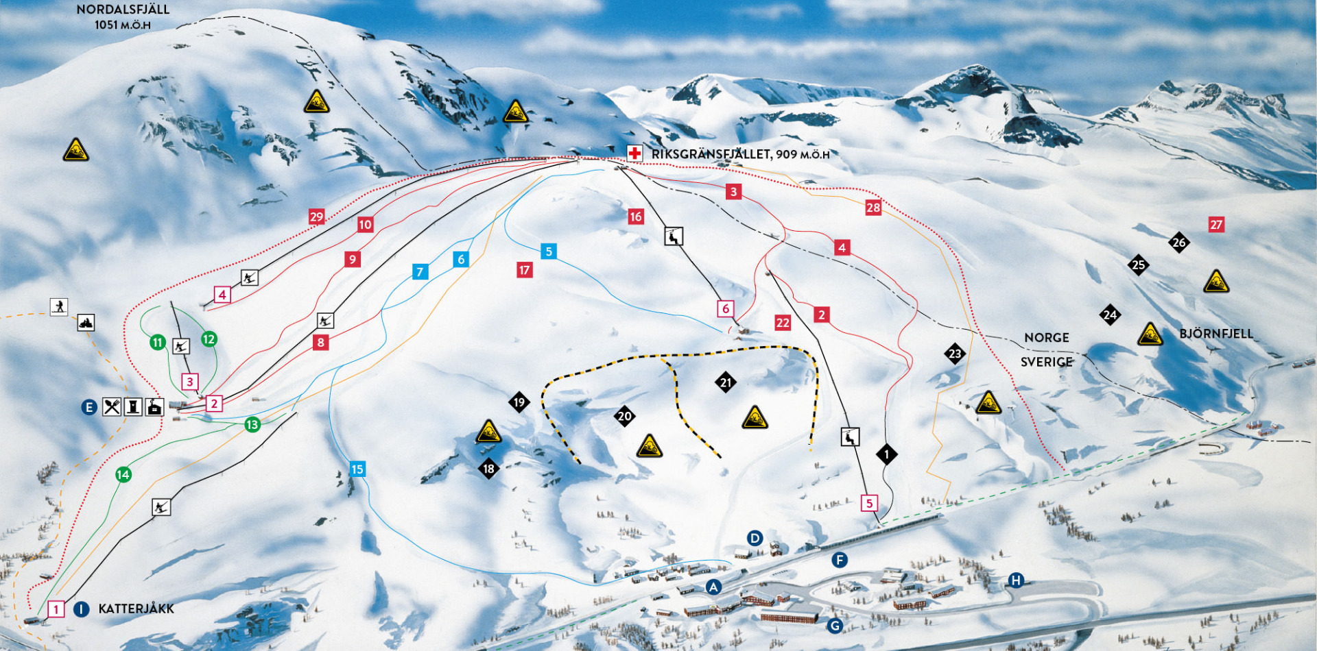 Riksgr 228 Nsen Ski Resort Skiing In Sweden Ski Sweden